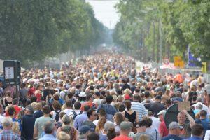 Mensenmassa