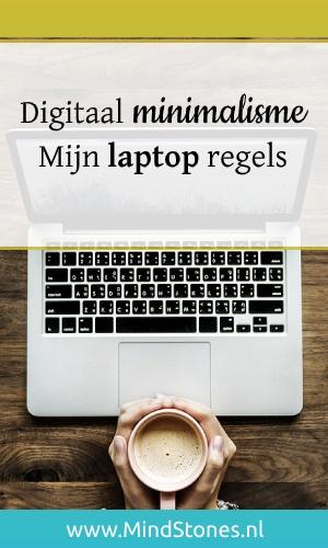 Digitaal minimalisme   Laptop regels