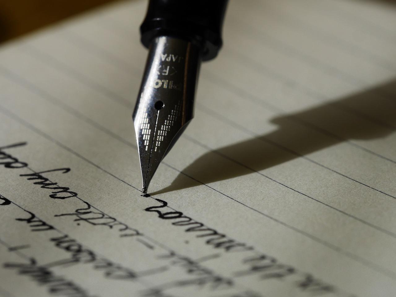 Schrijf eens een liefdesbrief
