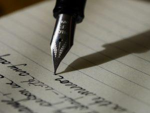 Dagboek, schrijven, pen