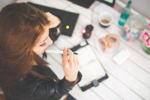concentreren, werken, studeren, leren
