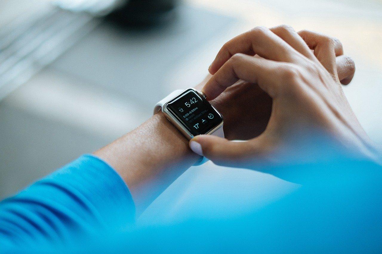 tijd wekker smartphone horloge